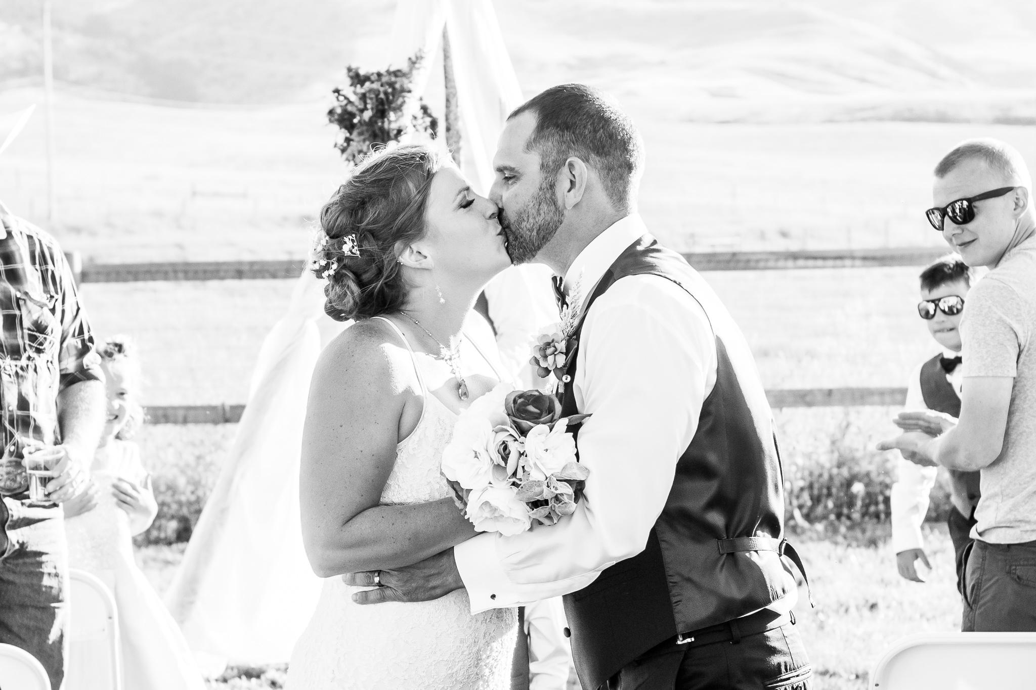 Joe & Jessica's Montana Wedding {Rachel Krug Photography} (37)